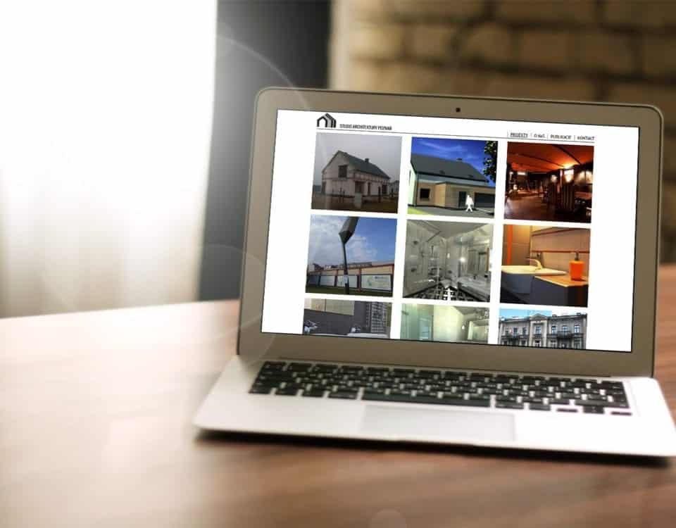 Strona www dla architekta